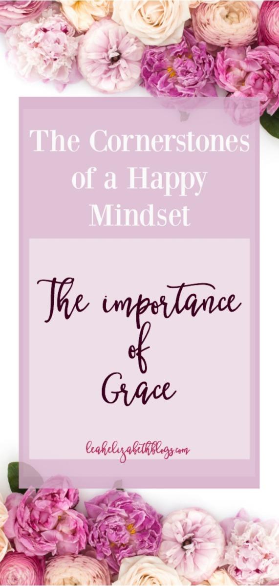 Leah Elizabeth blogs Pinterest image the importance of grace