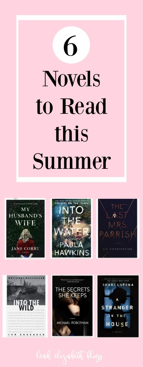 Summer Reading List Leah Elizabeth Blogs Pinterest Image